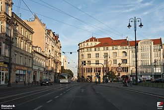 Marshal Ferdinand Foch Street in Bydgoszcz - Image: Bydgoszcz fotopolska.eu (242078)