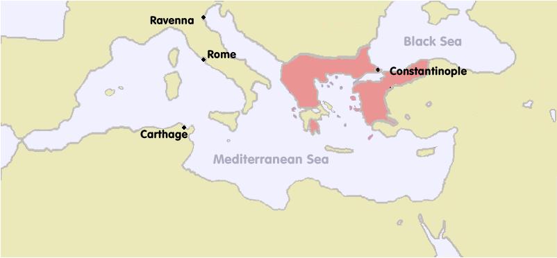 Byzantine Empire 1270 historical