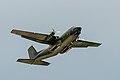 C-160 Transall with propeller tip vortex condensation.jpg