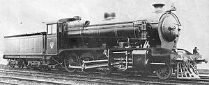 Victorian Railways C class - VR photograph of C 1, as built in 1918.