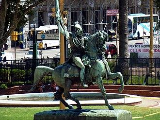 Equestrian monument to General Manuel Belgrano - Image: CABA Monserrat Homenaje al General Manuel Belgrano