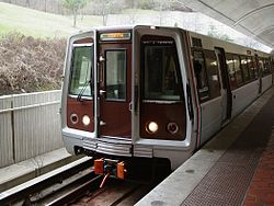 CAF 5026 at Fort Totten Lower Level Track 1.jpg