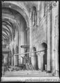 CH-NB - Romainmôtier, Abbatiale, Nef, vue partielle intérieure - Collection Max van Berchem - EAD-7500.tif