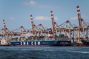 CMA CGM Alexander von Humboldt - Image: CMA CGM Alexander von Humboldt (ship, 2013) 001