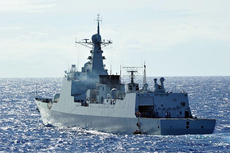 CNS Haikou DDG-171 participates in 2014 RIMPAC