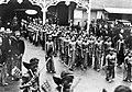 COLLECTIE TROPENMUSEUM 'Het veertig-jarig regeringsjubileum van Soesoehoenan Pakoe Boewono X van Surakarta in de stoet lopen serimpi's mee' TMnr 10001563.jpg