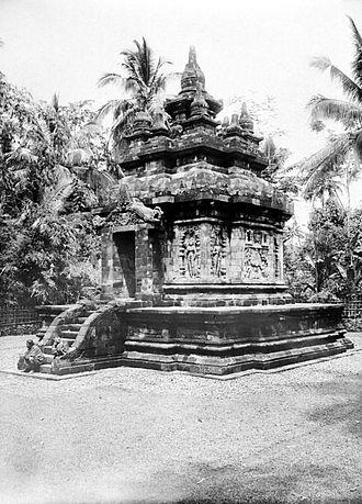 Pawon - Pawon temple, 1900.