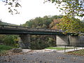 Cacapon River West Virginia Route 127 Bridge Forks of Cacapon WV 2008 10 12 10.jpg