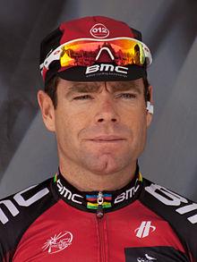 Cadel Evans - Criterium du Dauphiné 2012 - 1ere étape (cropped).jpg