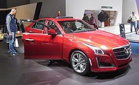 2013 Cadillac Ats 2 0 L Turbo >> Cadillac CTS - Wikipedia, the free encyclopedia