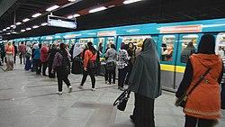 Cairo metro station of Third line.jpg