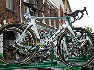 Fuji Bikes - Image: Caja Rural Seguros RGA bicycles