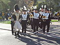 Cal Band en route to Memorial Stadium for 2008 Big Game 05.JPG