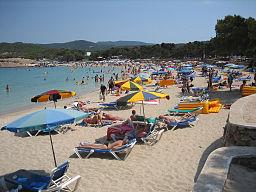 Пляж Cala Bassa