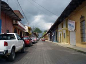 Coatepec, Veracruz - A typical street in Coatepec