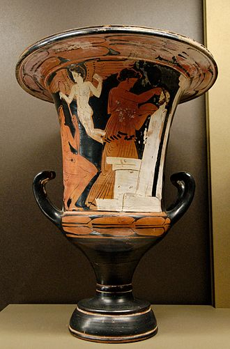 Kerch style - Image: Calyx krater Athens 1375 Louvre CA153