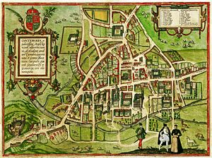 Cambridge - Cambridge in 1575