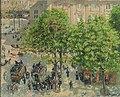 Camille Pissarro - Place du Théâtre Français à Paris, printemps (1898).jpg