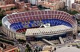 Camp Nou, Barcelona (1956-1957)