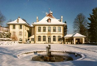 Belp - Oberried estate in winter