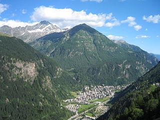 Campodolcino Comune in Lombardy, Italy