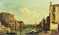Canaletto (1697-1768) (after) - Venice, the Grand Canal from Campo San Vio towards the Bacino - P512 - The Wallace Collection.jpg