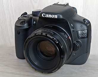 Canon EOS 550D - 550D with Canon EF 50mm f/1.8 lens