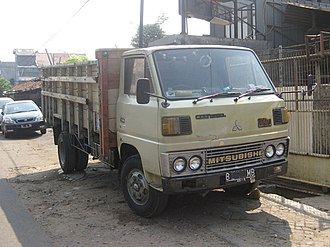 Mitsubishi Fuso Canter - Canter 4th generation (standard cab), sold as Colt Diesel (FE114) in Indonesia