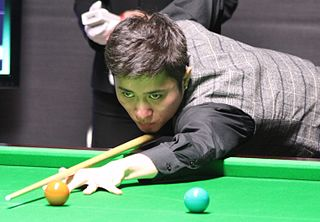 Cao Yupeng Chinese snooker player