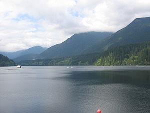 North Vancouver (district municipality) - Capilano Lake.