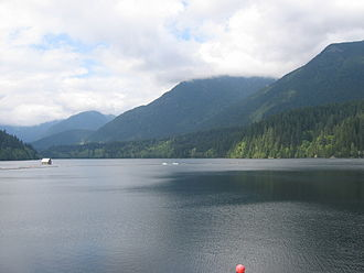 North Vancouver (district municipality) - Capilano Lake.