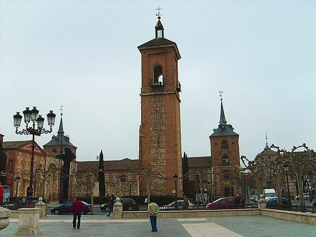 Церковь, где был крещен Сервантес, Алкала де Энарес
