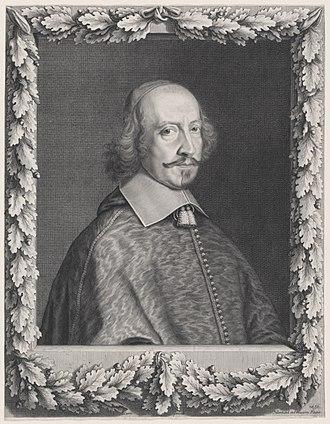 Cardinal Mazarin - Cardinal Mazarin by Robert Nanteuil, 1656