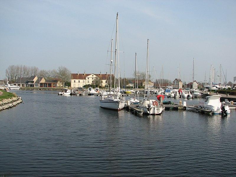 Port de plaisance de Carentan, NormandieCarentan Harbor, Normandy