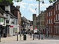 Carfax to Market Square in Horsham, West Sussex, England 02.jpg