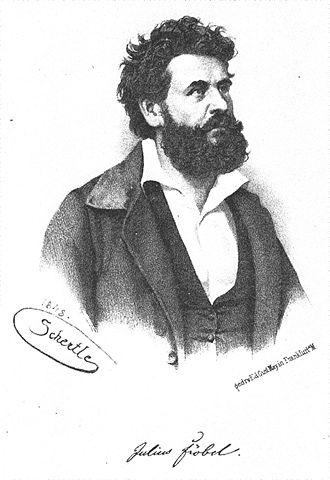 Julius Fröbel - Julius Fröbel, lithography (1848)