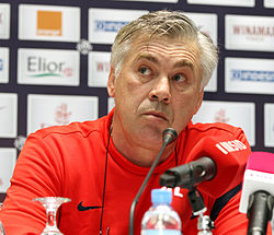 File photo of Ancelotti. Image: Mohan/Doha Stadium Plus Qatar.