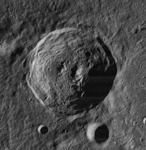 Carpenter (crater) - Image: Carpenter crater 4176 h 2