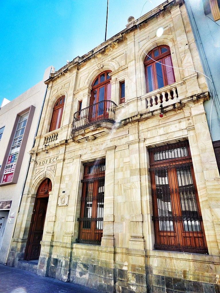File casa de ignacio ortiz 1915 actual sede de profeco - Casa del libro rivas ...