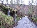 Cascada en el camino de Oleiros - panoramio.jpg