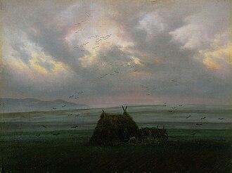 Frankfurt art theft (1994) - Nebelschwaden by Caspar David Friedrich, ca. 1820