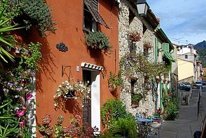 Castellar, Alpes-Maritimes - Image: Castellar France BW 3