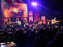 Casting Crowns performing live on the Come to the Well Tour in 2011