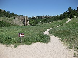 Castlewood Canyon State Park - Castlewood Dam Trails
