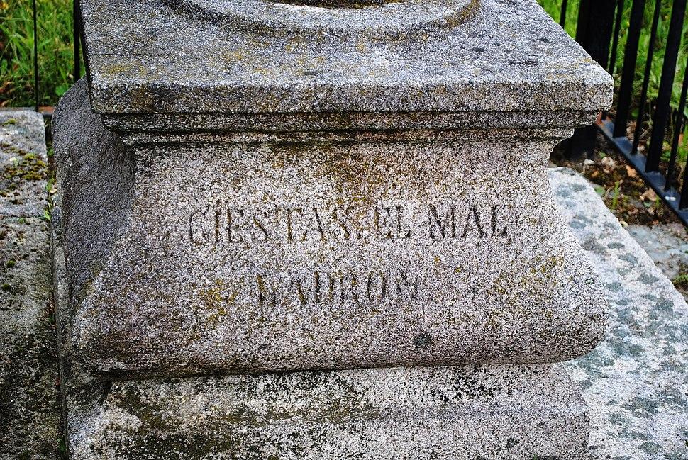 Castro Barbudo, GIESTAS EL MAL LADRON