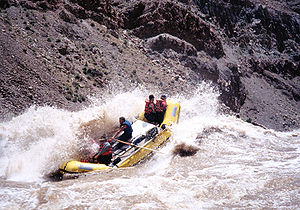 Cataract Canyon - Raft in the Big Drop Rapids, Cataract Canyon