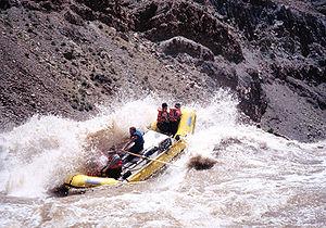 Cataract Canyon - Raft in the Big Drop Rapids, Cataract Canyon