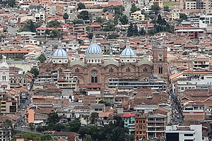 Cuenca, Ecuador - Cathedral of the Immaculate Conception.