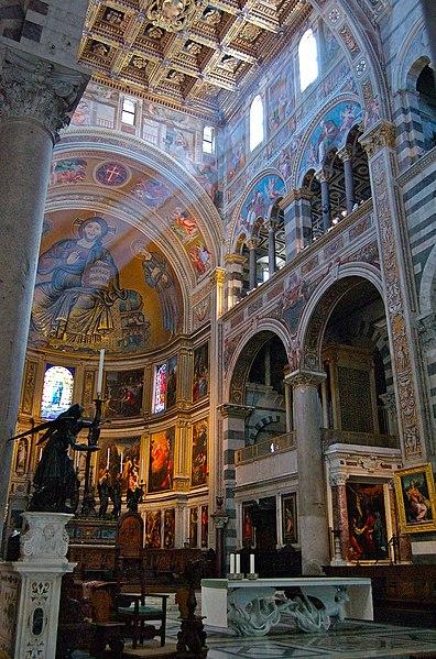 Возведение кафедрального собора (Duomo di Santa Maria Assunta)