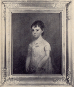 Matthew Harris Jouett - Portrait of Catherine Cornelia Prather by Matthew Jouett.